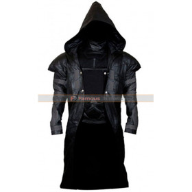 Overwatch Reaper Gabriel Reyes Cosplay Hooded Costume