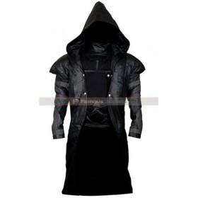 Overwatch Reaper Gabriel Reyes Cosplay Hooded Costume