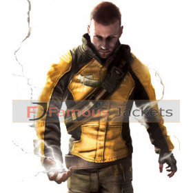 Replica Infamous Cole Macgrath Cosplay Costume Jacket
