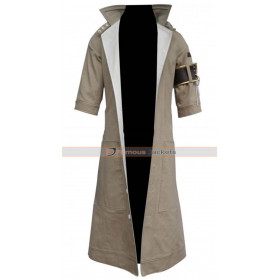 Snow Villiers Final Fantasy XIII Cosplay Trench Coat