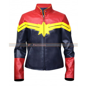 Carol Denvers Captain Marvel Cosplay Costume