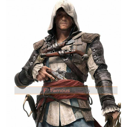 Assassin's Creed Black Flag Edward Kenway Jacket Costume
