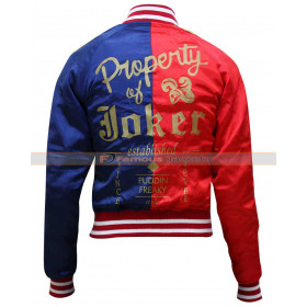 Property Of Joker Harley Quinn Jacket