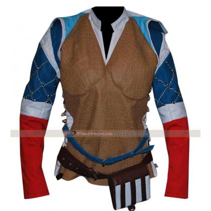 Triss Merigold Witcher 3 Wild Hunt Sorceress Jacket