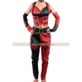 Batman Arkham City Harley Quinn Sexy Corset & Pants Costume