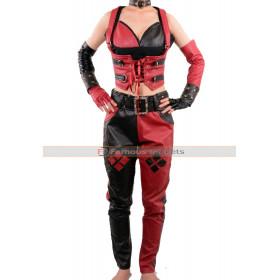 Batman Arkham City Harley Quinn Sexy Corset & Pants Costume