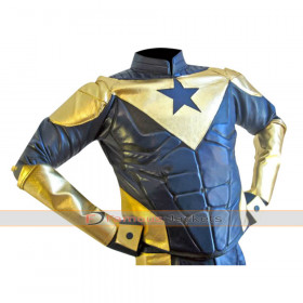 Eric Martsolf Booster Gold Leather Jacket