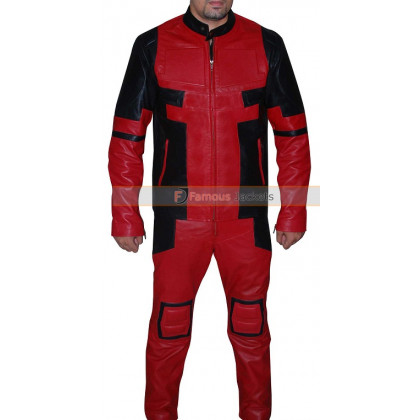 Deadpool 2016 Ryan Reynolds (Wade Wilson) Jacket Costume