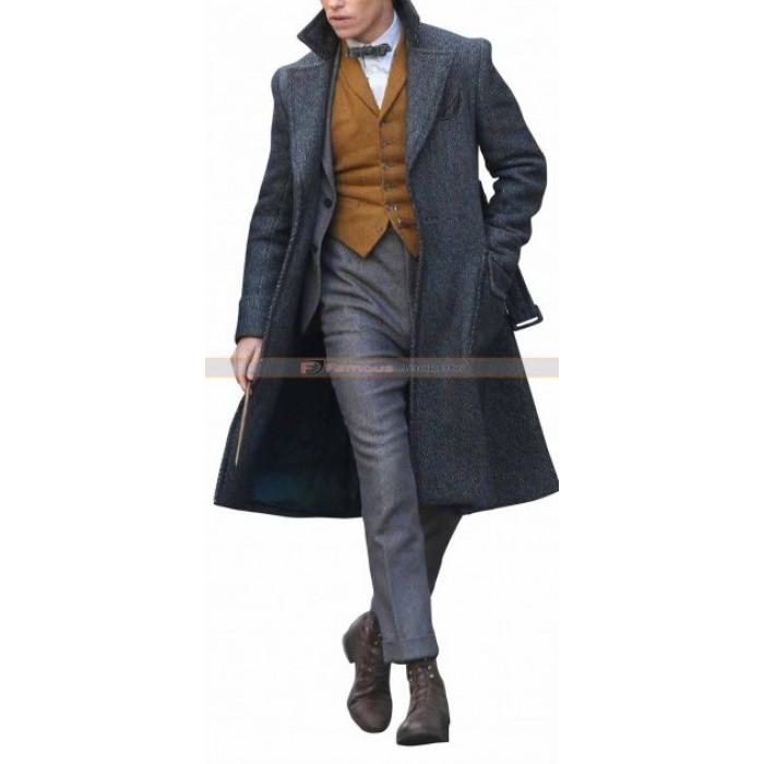 Fantastic Beasts 2 Crimes Of Grindelwald Newt Scamander Coat