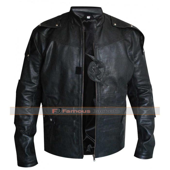 Flash Season 2 Zoom Black Costume Leather Jacket
