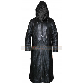Organization XIII Kingdom Hearts Enigma Hooded Cosplay Coat