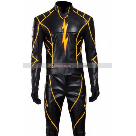 The Rival Flash Todd Lasance Black Leather Jacket