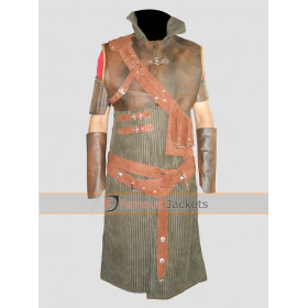 The Witcher 3 Wild Hunt Geralt Cosplay Leather Costume