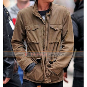Andrew Garfield Amazing Spider Man Brown Jacket