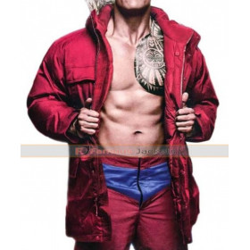 Mitch Buchannon Baywatch Fur Collar Jacket