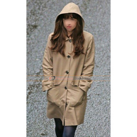Fifty Shades Darker Dakota Johnson (Anastasia) Hoodie Coat