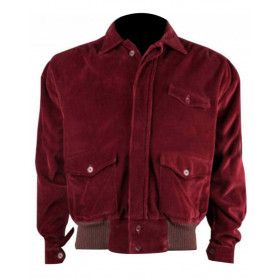 The Shining Jack Torrance Corduroy Red Jacket