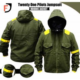 Twenty One Pilots Tyler Joseph Storm Again Jumpsuit Cotton Jacket