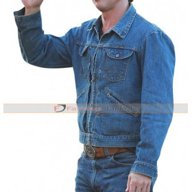 Brad Pitt (Cliff Booth) Once Upon a Time in Hollywood Denim Jacket