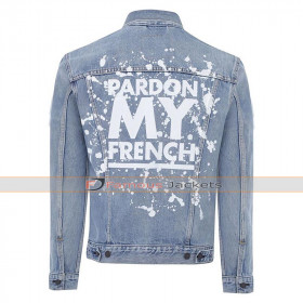 Pardon My French DJ Snake Denim Jacket