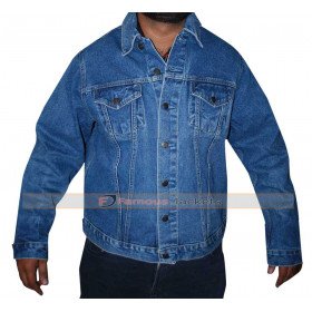 Mark Wahlberg 2 Guns Stig Denim Jacket