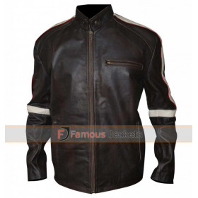 Belstaff Mens Hero Bison Leather Brown Jacket