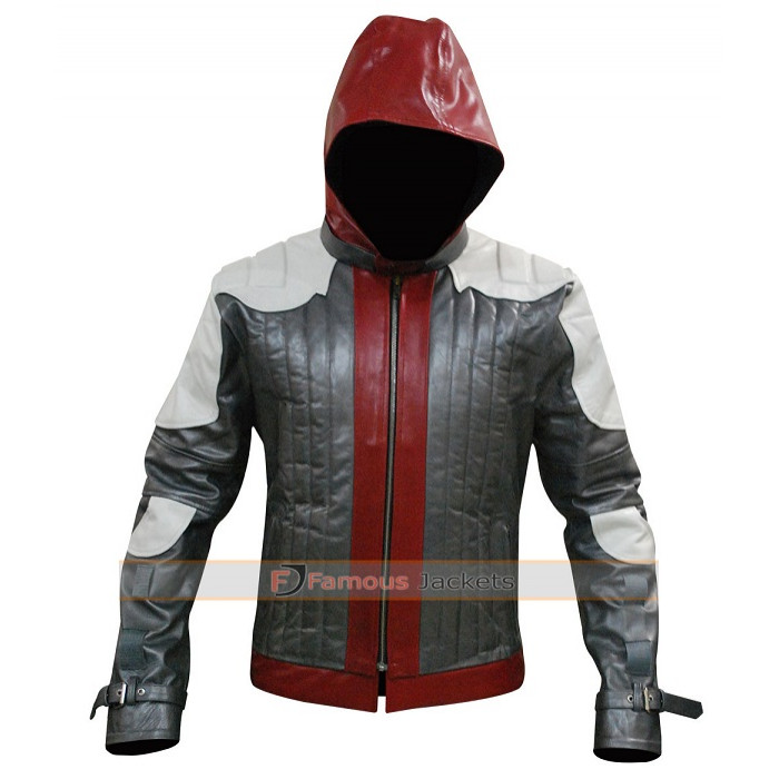 3007eae7283 Batman Arkham Knight Red Hood (Jason Todd) Jacket