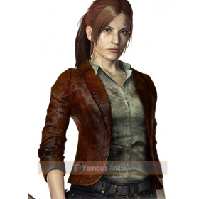 Resident Evil: Revelations 2 Claire Redfield Leather Jacket