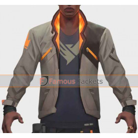 Phoenix Fiery Valorant Jacket