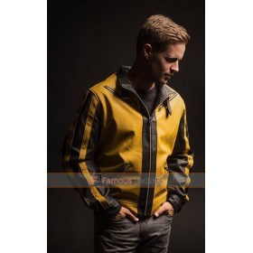 Wolfenstein 2 The New Colossus Yellow Leather Jacket