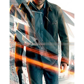 Quantum Break Game Jack Joyce Distressed Jacket