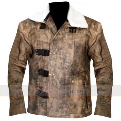 Wolfenstein The New Order William 'B.J.' Blazkowicz Fur Jacket
