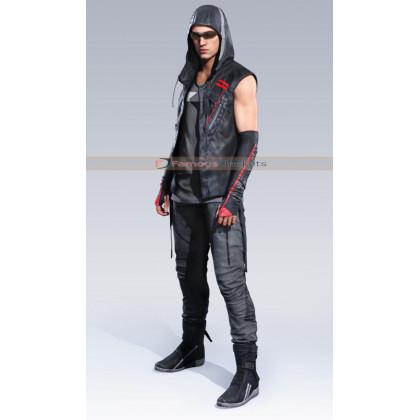 Mirror's Edge Catalyst Icarus Hoodie Black Vest