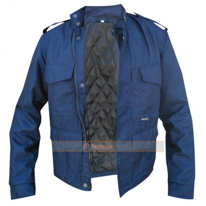 Aloha Bradley Cooper (Brian Gilcrest) Blue Jacket
