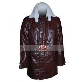The Dark Knight Rises Bane Synthetic Faux Coat