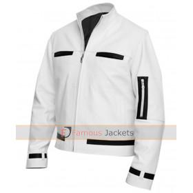 King Of Fighter Kyo Kusanagi White Leather Jacket