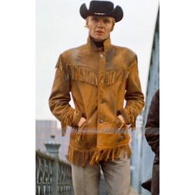 Midnight Cowboy Jon Voight (Joe Buck) Fringe Jacket