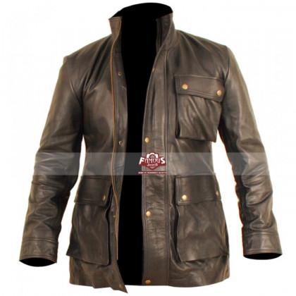 Star Trek Into Darkness Chris Pine (James T. Kirk) Leather Jacket