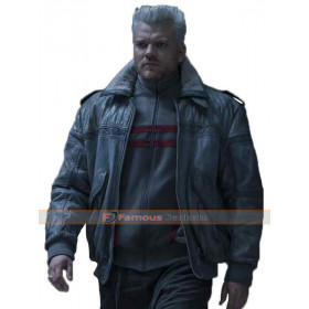 Ghost in the Shell Batou Fur Collar Jacket