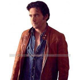 David Slaney Caught Allan Hawco Brown Jacket