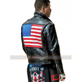 Cody Rhodes Biker Leather Jacket