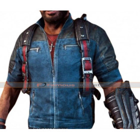 Rico Rodriguez Just Cause 3 Game Leather Jacket