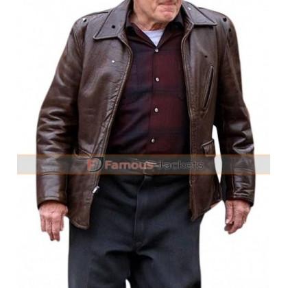 Frank Sheeran The Irishman Robert De Niro Leather Jacket