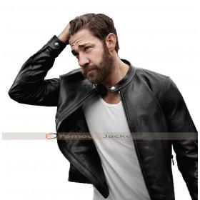 Tom Clancy's Jack Ryan John Krasinski Black Leather Jacket