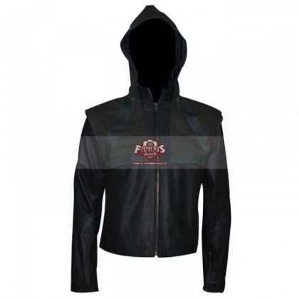 Arrow Season 2 Stephen Amell (Oliver Queen) Hoodie Green Jacket