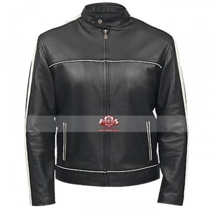 Classic Black Denver Men's Leather Jacket