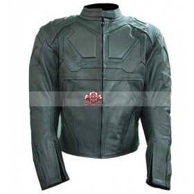 Oblivion Tom Cruise (Jack Harper) White Motorcycle Leather Jacket
