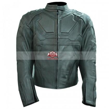 Oblivion Tom Cruise (Jack Harper) White Motorcycle Leather Jacket