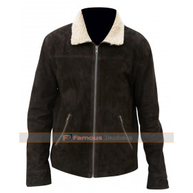 The Walking Dead Season 4 Rick Grimes Fur Collar Jacket
