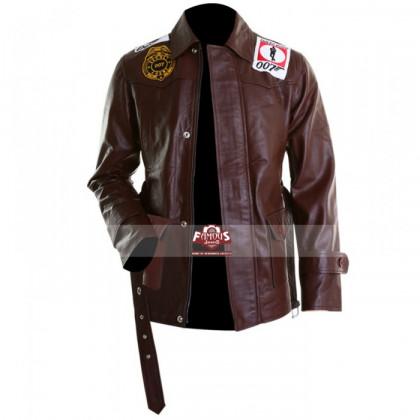 James Bond Tomorrow Never Dies Leather Jacket